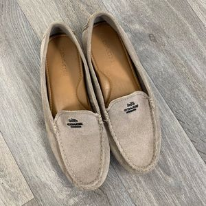 COACH | Men's Tan Suede Loafers Size 9.5